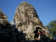 Asisbiz Bayon Temple NW inner gallery face towers Angkor Siem Reap 19