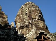 Asisbiz Bayon Temple NW inner gallery face towers Angkor Siem Reap 21