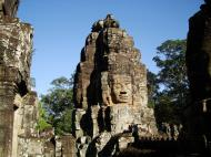 Asisbiz Bayon Temple NW inner gallery face towers Angkor Siem Reap 33