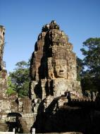 Asisbiz Bayon Temple NW inner gallery face towers Angkor Siem Reap 34