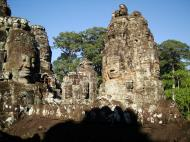 Asisbiz Bayon Temple NW inner gallery face towers Angkor Siem Reap 40
