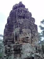 Asisbiz Bayon Temple NW inner gallery face towers Angkor Siem Reap 43