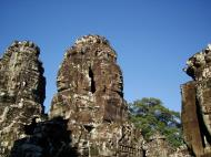 Asisbiz Bayon Temple NW inner gallery face towers Angkor Siem Reap 50