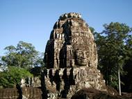 Asisbiz Bayon Temple NW inner gallery face towers Angkor Siem Reap 57
