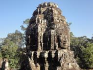 Asisbiz Bayon Temple NW inner gallery face towers Angkor Siem Reap 62