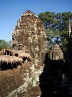 Asisbiz Bayon Temple SW corner inner gallery face tower Angkor Siem Reap 02