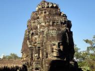 Asisbiz Bayon Temple SW corner inner gallery face tower Angkor Siem Reap 06