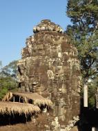 Asisbiz Bayon Temple SW corner inner gallery face tower Angkor Siem Reap 09