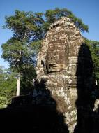 Asisbiz Bayon Temple SW inner gallery corner face towers Angkor Siem Reap 02