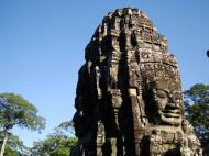 Asisbiz Bayon Temple SW inner gallery corner face towers Angkor Siem Reap 03