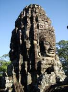Asisbiz Bayon Temple SW inner gallery corner face towers Angkor Siem Reap 04