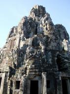 Asisbiz Bayon Temple central face tower Angkor Siem Reap 03