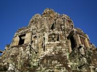 Asisbiz Bayon Temple central face tower Angkor Siem Reap 04
