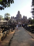 Asisbiz Bayon Temple eastern gopura entrance Angkor Jan 2010 02