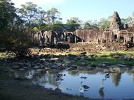 Asisbiz Bayon Temple panoramic views of Northern outer walls Angkor Jan 2010 12