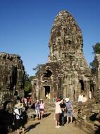 Asisbiz Bayon Temple upper terrace Angkor Siem Reap 05