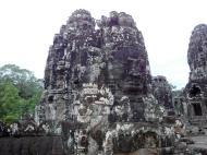 Asisbiz Bayon Temple various aspects face towers Angkor Siem Reap 04