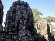 Asisbiz Bayon Temple various aspects face towers Angkor Siem Reap 06