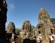 Asisbiz Bayon Temple various aspects face towers Angkor Siem Reap 12