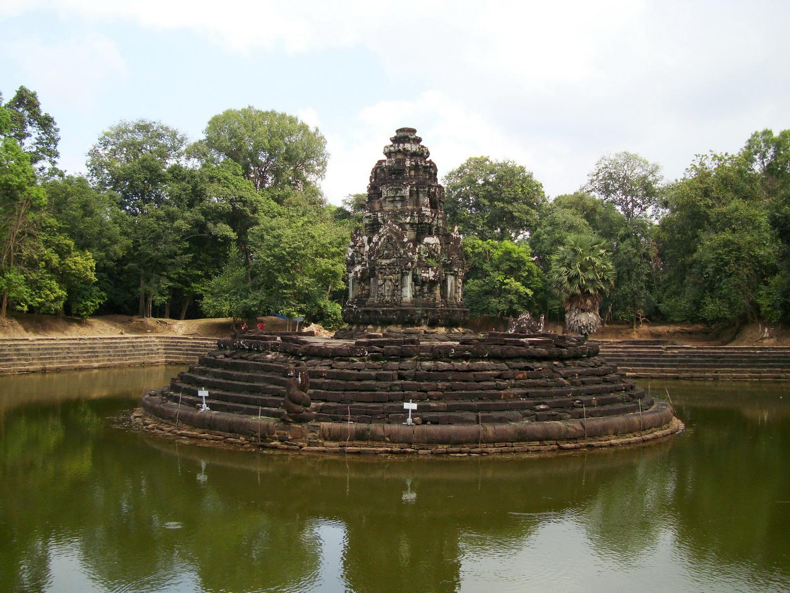 Neak Pean Temple sanctuary and artificial pond 15