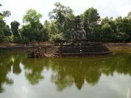 Asisbiz Neak Pean Temple sanctuary and artificial pond 08