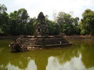 Asisbiz Neak Pean Temple sanctuary and artificial pond 09