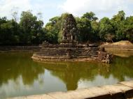 Asisbiz Neak Pean Temple sanctuary and artificial pond 10