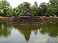 Asisbiz Neak Pean Temple sanctuary and artificial pond 13
