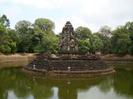 Asisbiz Neak Pean Temple sanctuary and artificial pond 15