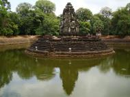 Asisbiz Neak Pean Temple sanctuary and artificial pond 16