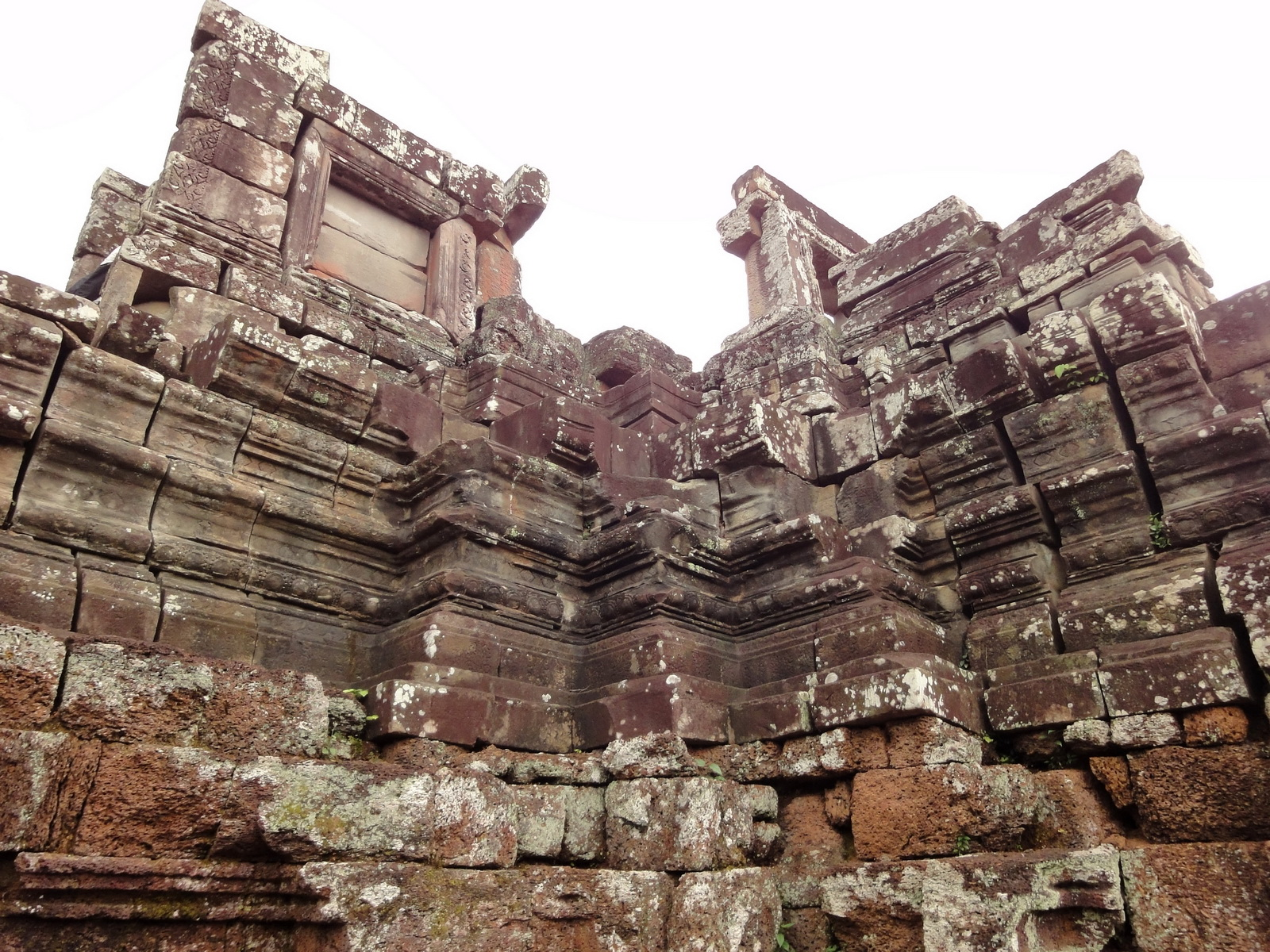 Phimeanakas central tower Southern views Hindu Khleang style 17