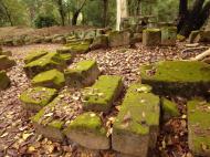 Asisbiz Phimeanakas stones marked for restoration Hindu Khleang style 03