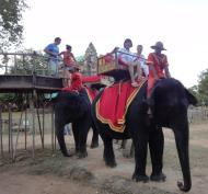 Asisbiz Phnom Bakheng Temple Camdodian elephant ride Angkor 03