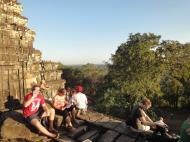 Asisbiz Phnom Bakheng Temple popular tourist sunset spot Angkor 03
