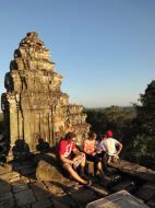 Asisbiz Phnom Bakheng Temple popular tourist sunset spot Angkor 04