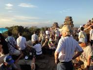 Asisbiz Phnom Bakheng Temple tourist sunset rush Angkor 08