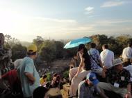 Asisbiz Phnom Bakheng Temple tourist sunset rush Angkor 09