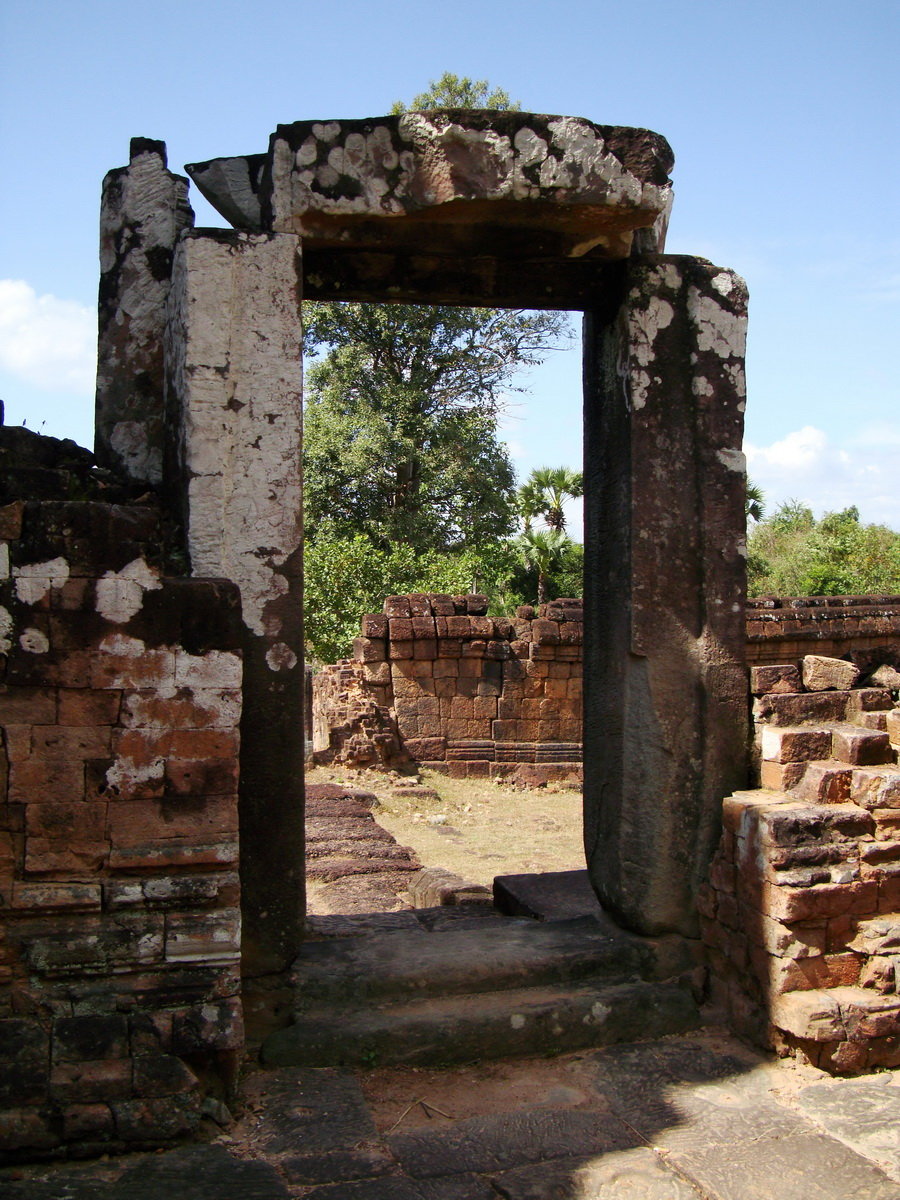Pre Rup Temple middle courtyard view East Baray Jan 2010 10