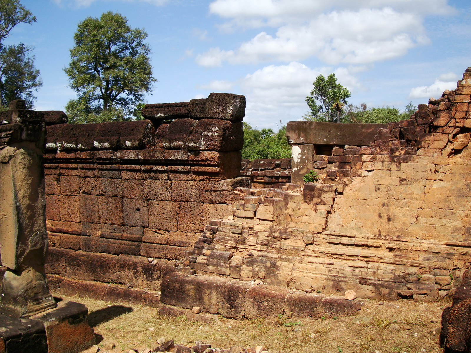 Pre Rup Temple middle courtyard view East Baray Jan 2010 16