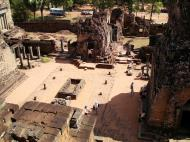 Asisbiz Facing East Pre Rup Temple cistern and courtyard East Baray 2010 01