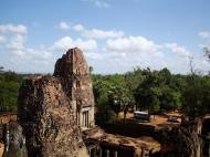 Asisbiz Facing East Pre Rup Temple lion and library East Baray 2010 04