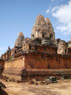 Asisbiz Facing NW Pre Rup Temple lower courtyard East Baray 2010 04