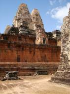 Asisbiz Facing NW Pre Rup Temple lower courtyard East Baray 2010 05