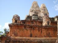 Asisbiz Facing NW Pre Rup Temple lower courtyard East Baray 2010 07