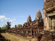 Asisbiz Facing NW Pre Rup Temple lower courtyard view East Baray 2010 01