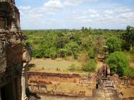 Asisbiz Facing NW Pre Rup Temple upper courtyard tower East Baray 2010 02
