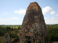 Asisbiz Facing NW Pre Rup Temple upper courtyard tower East Baray 2010 03
