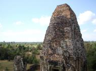 Asisbiz Facing NW Pre Rup Temple upper courtyard tower East Baray 2010 04