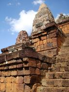 Asisbiz Facing NW Pre Rup Temple upper tower stairs East Baray 2010 01