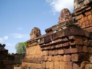 Asisbiz Facing NW Pre Rup Temple upper tower stairs East Baray 2010 02